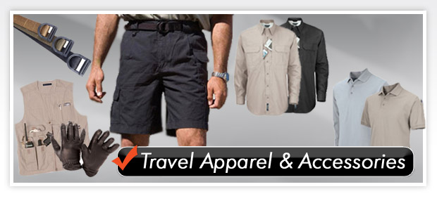 Travel Apparel & Accessories