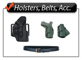 Holsters, Belt, and Accessories